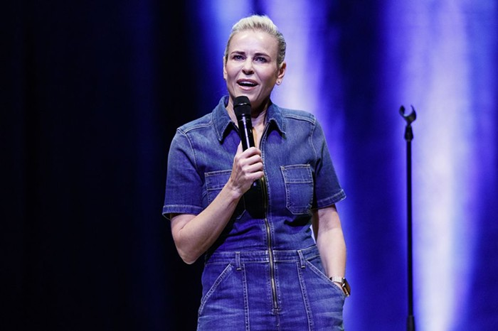 We cant wait to hear about Chelsea Handlers new romance with fellow comedian and longtime friend Jo Koy during her Vaccinated and Horny Tour.