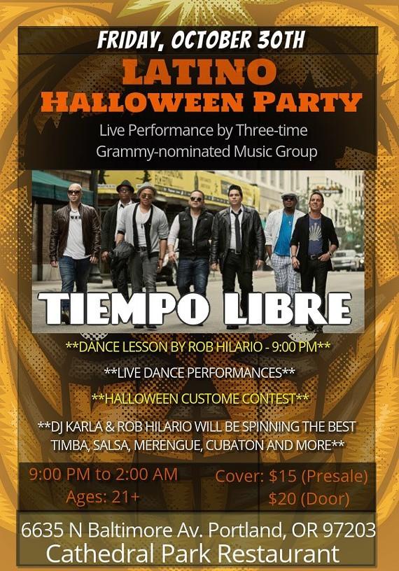 Latino Halloween Party