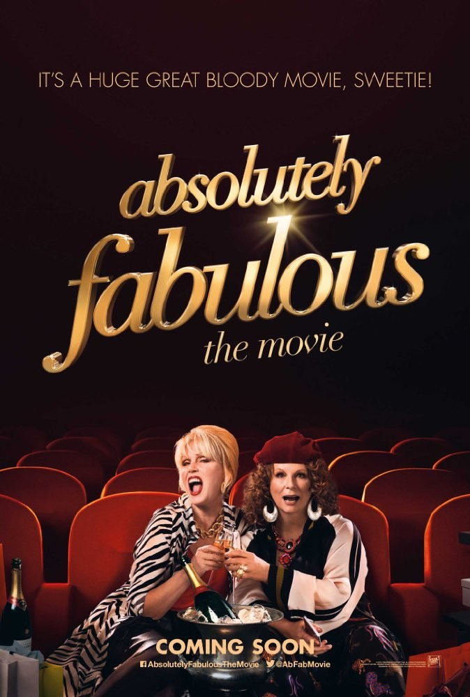 The Film Achieves The Same High Pitched, Broad Humor Of The Seriesu2014even  Though At A Scant 90 Minutes, Ab Fab: The Movie Is Straining At The Seams.