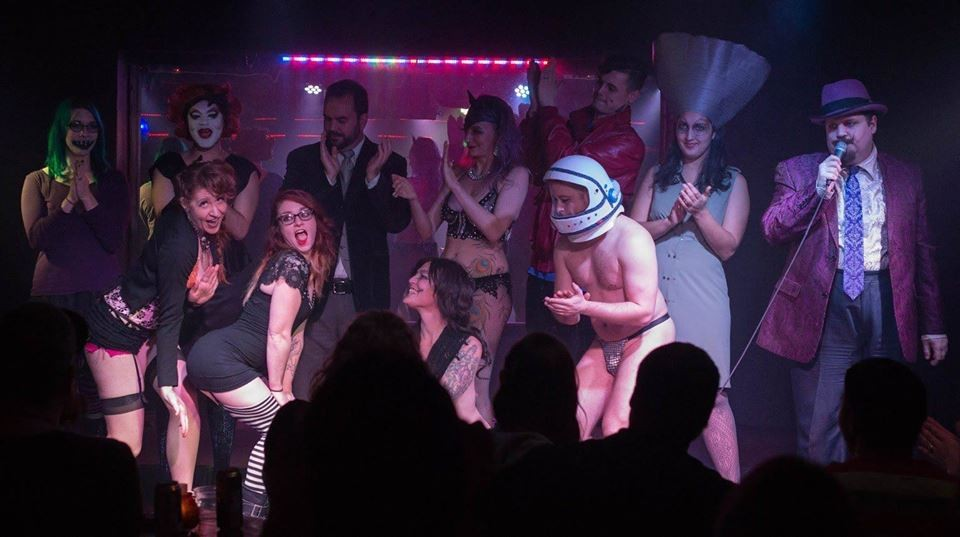 A Burlesque Nightmare Before Christmas at The Analog Cafe and ...