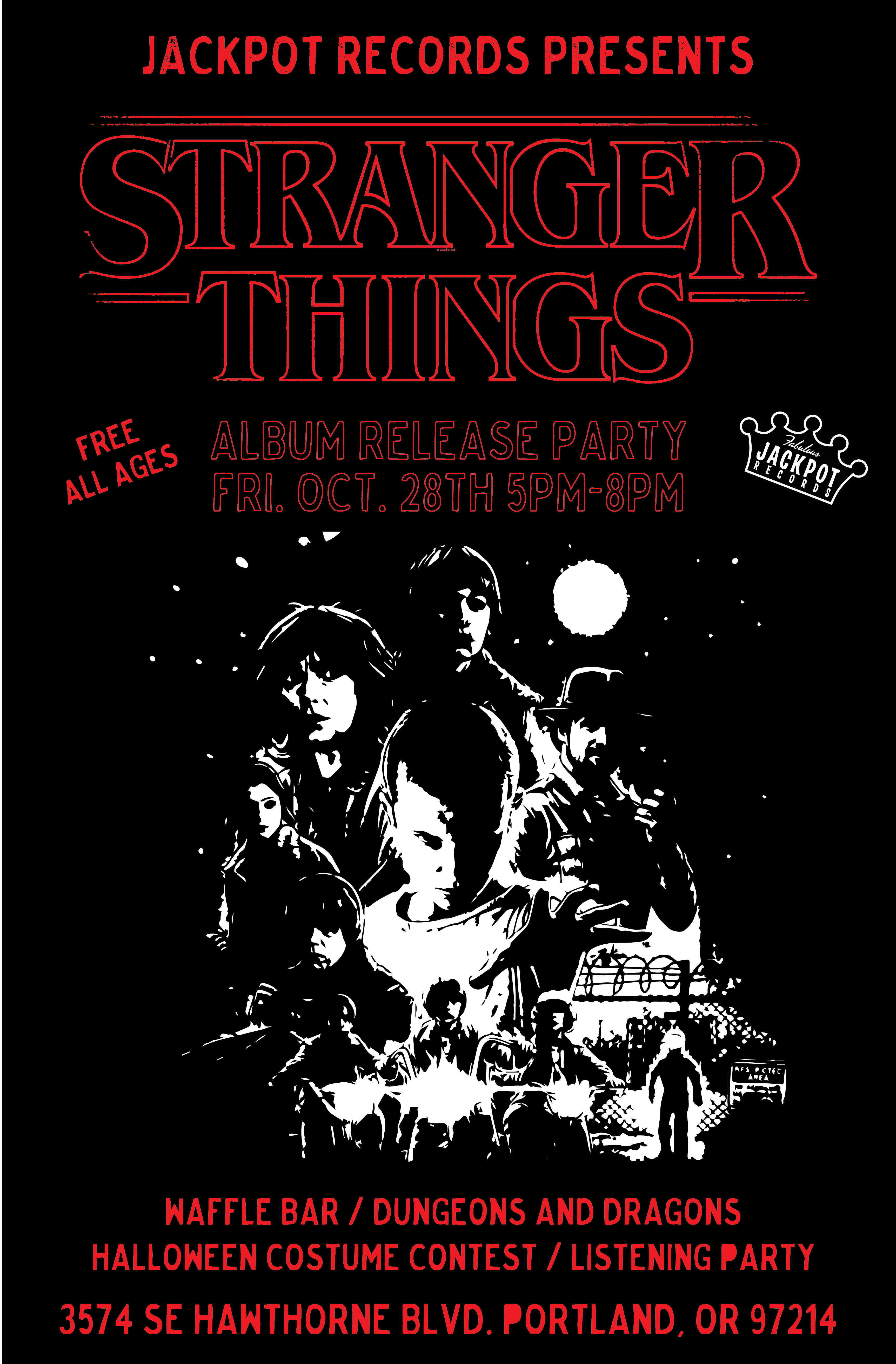Stranger Things Album Release Party at Fabulous Jackpot Records ...