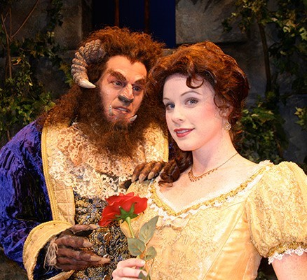 Disney's Beauty and the Beast at Newmark Theatre in ...