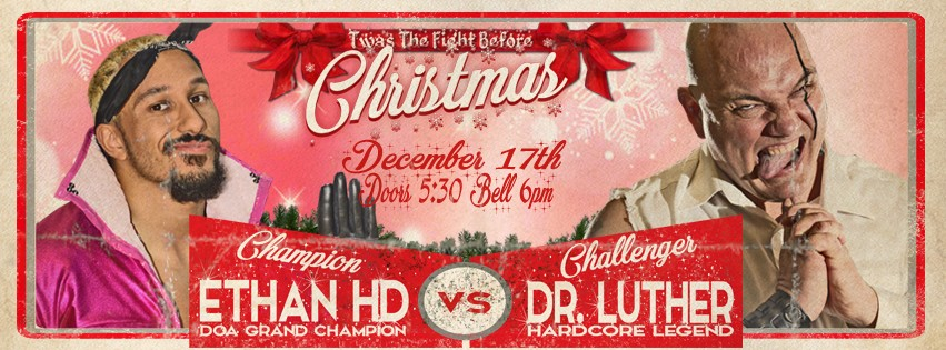 doa pro wrestling twas the fight before christmas - The Fight Before Christmas