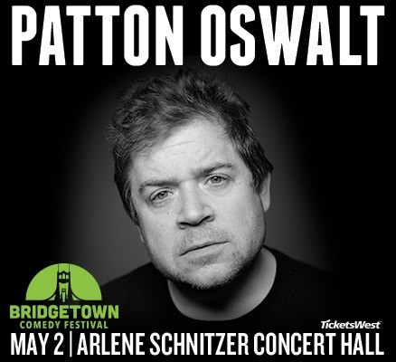 Patton Oswalt At Arlene Schnitzer Concert Hall In Portland Or On