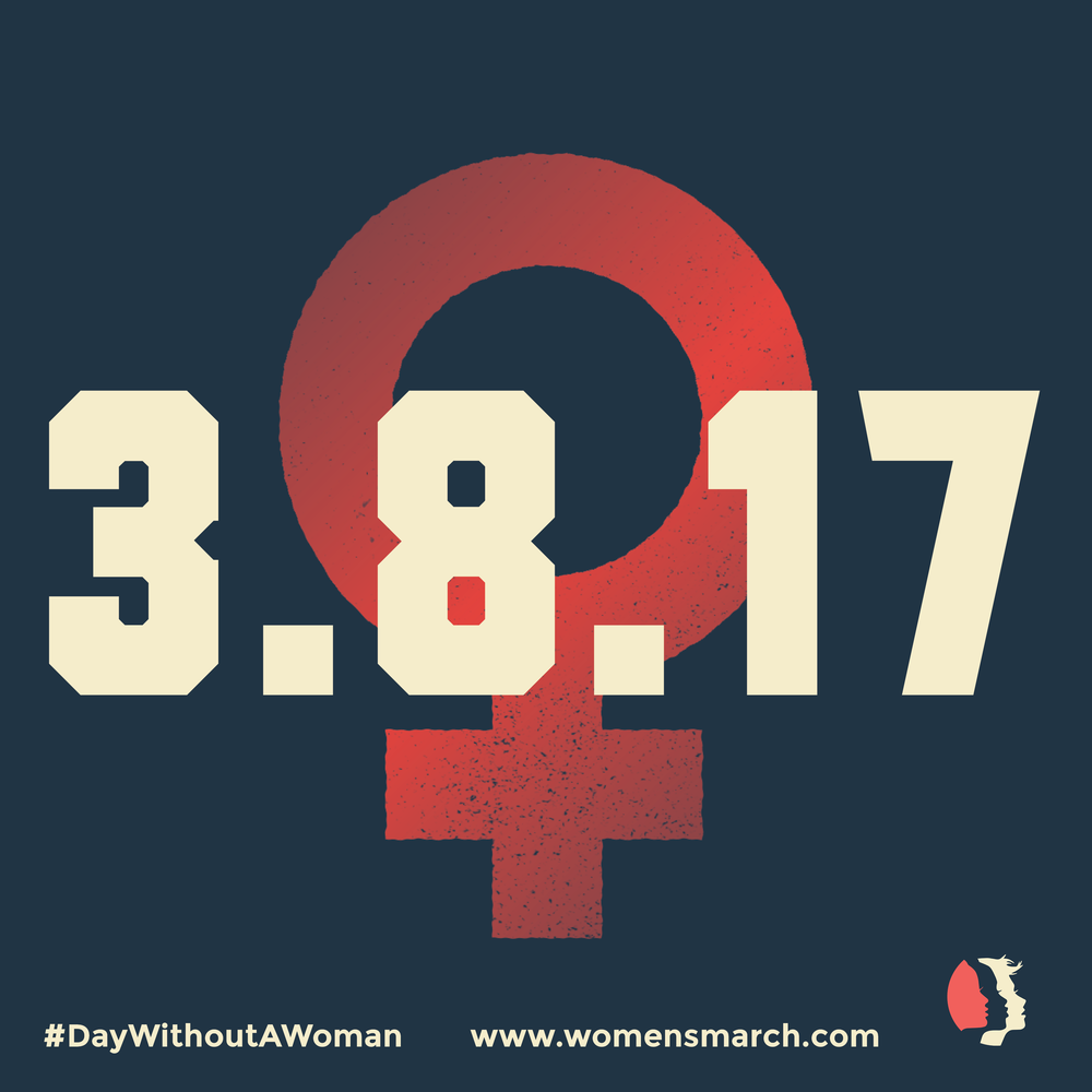 A Day Without A Woman At Various Locations In Portland OR On Wed - Womens march map of the us