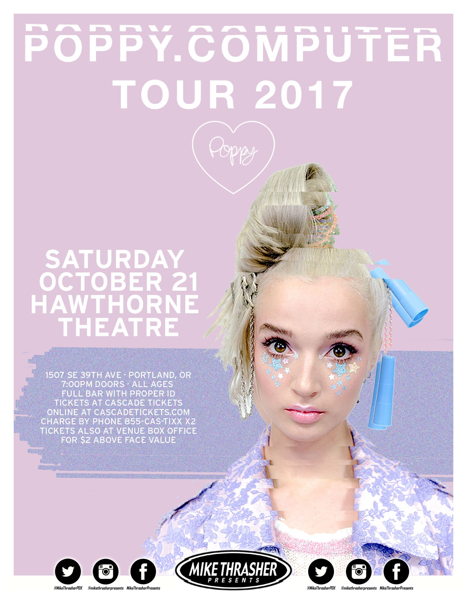 Poppy At Hawthorne Theatre In Portland Or On Sat Oct 21 8 Pm