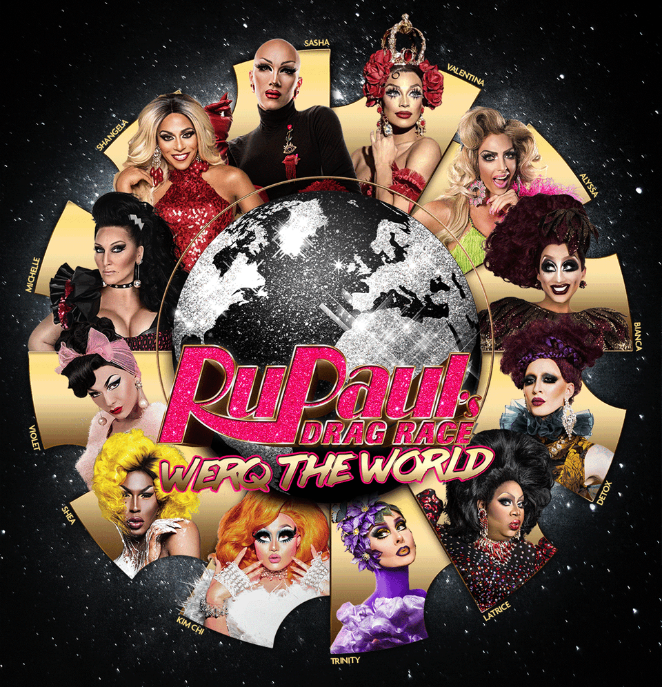 Rupaul S Drag Race Werq Your World