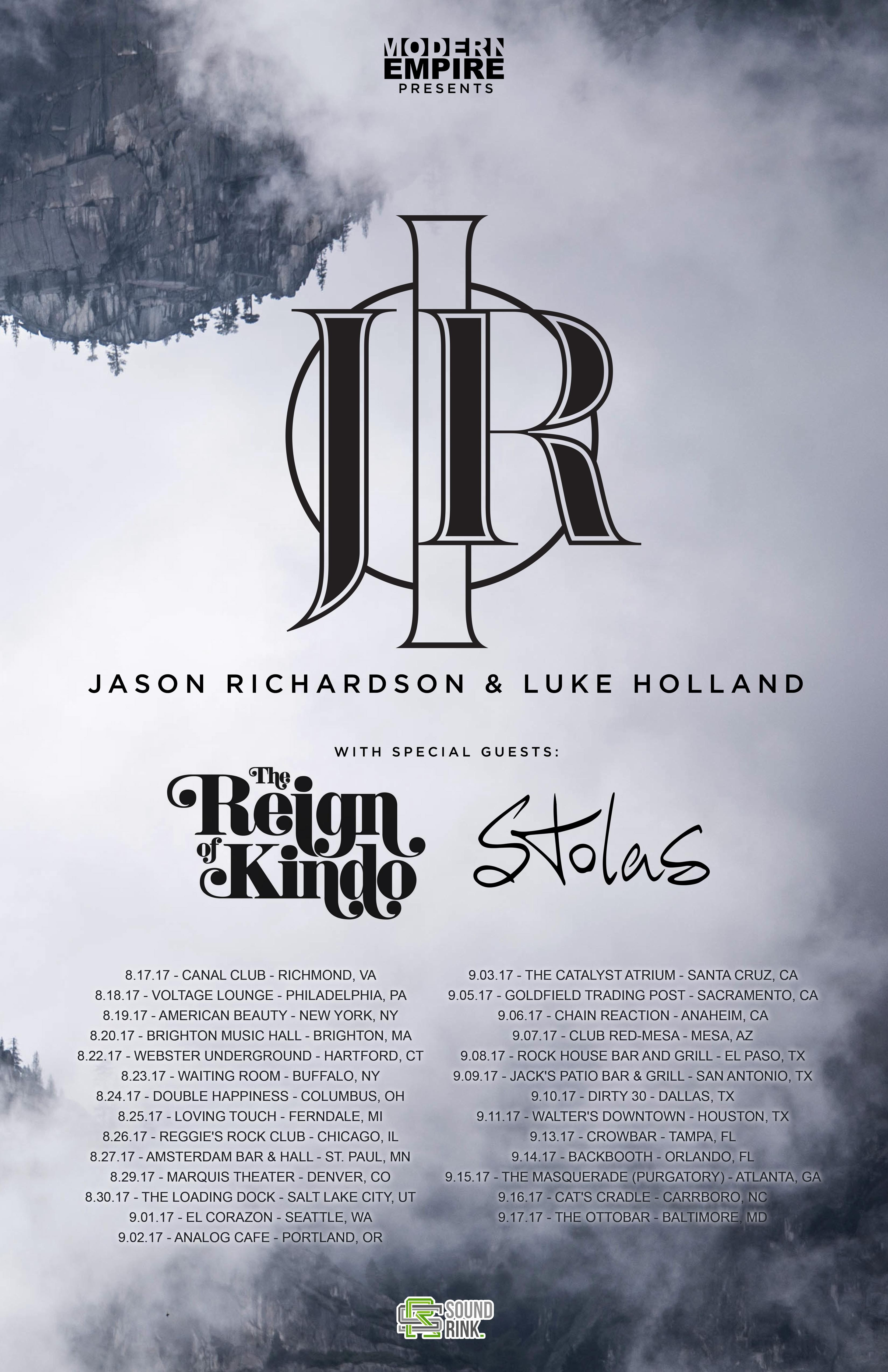 Jason Richardson Luke Holland The Reign of Kindo Stolas at The