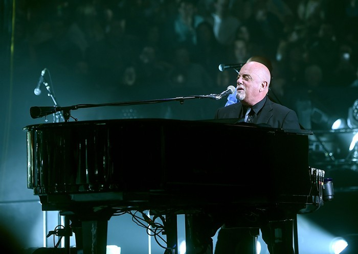 BILLY JOEL Writes hits, loves pugs.