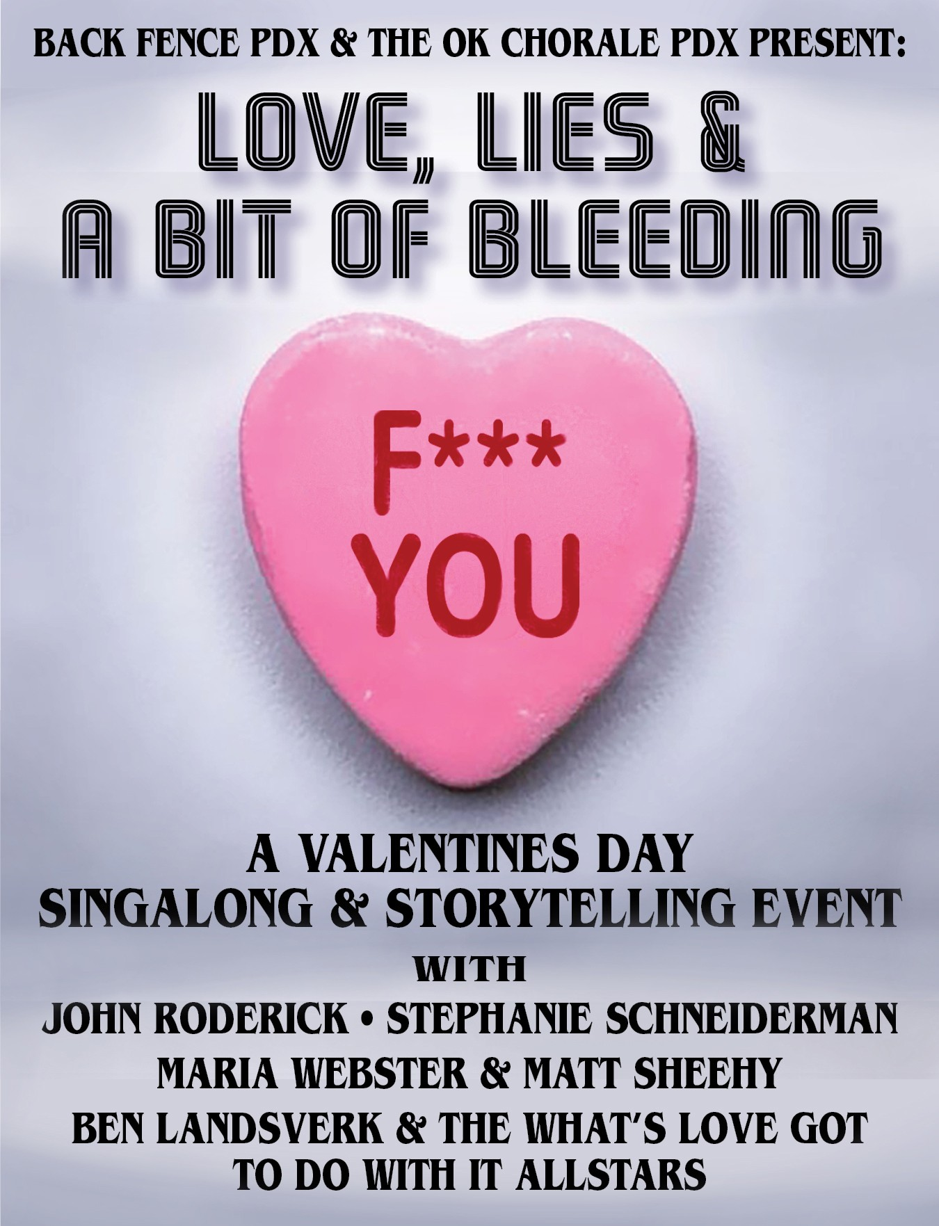 Love Lies & a Bit of Bleeding