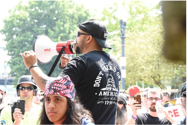Joey Gibson in 2017