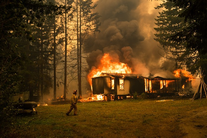 The city of Estacada, near Portland, was one of many Oregon areas told to evacuate due to wildfires last year.