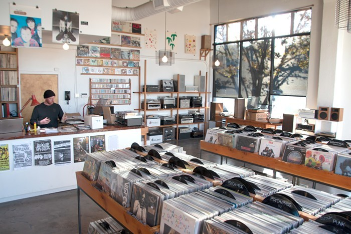 Tomorrow Records is one of many Portland vinyl shops participating in Record Store Day this weekend.