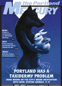 Cover of this issue of Portland Mercury