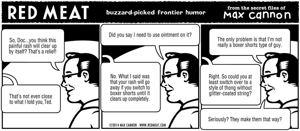 buzzard-picked frontier humor