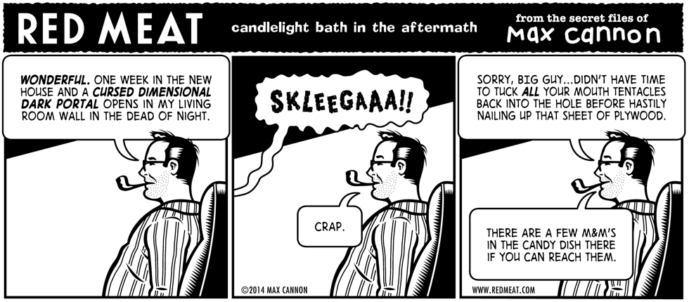 candlelight bath in the aftermath