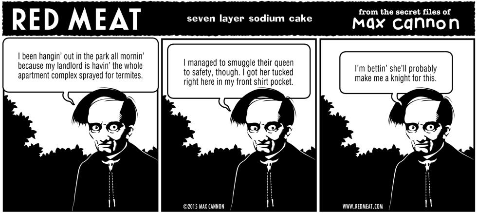 seven layer sodium cake