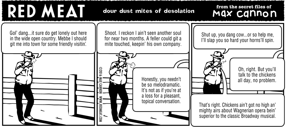 dour dust mites of desolation