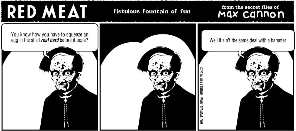 fistulous fountain of fun