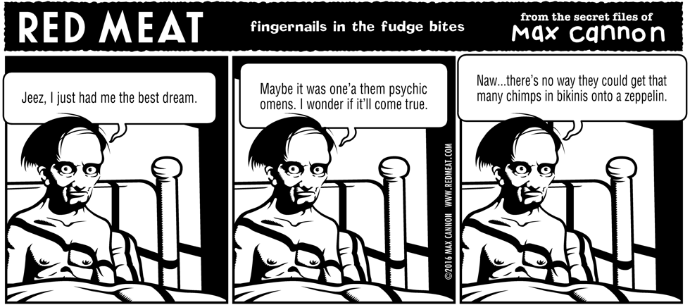 fingernails in the fudge bites