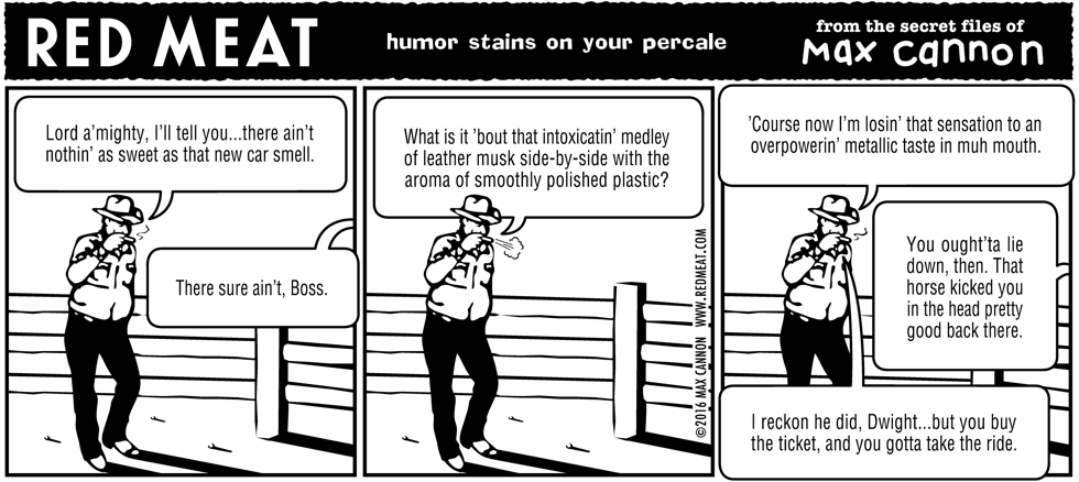 humor stains on your percale