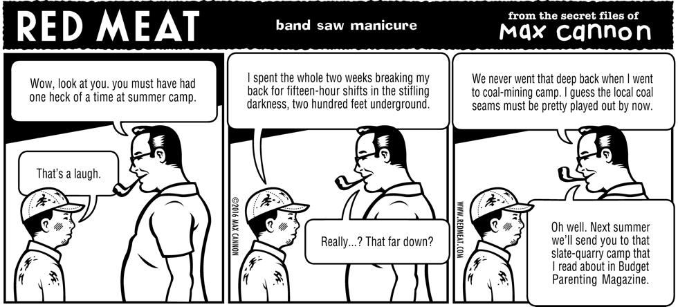 band saw manicure