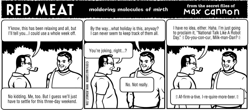 moldering molecules of mirth