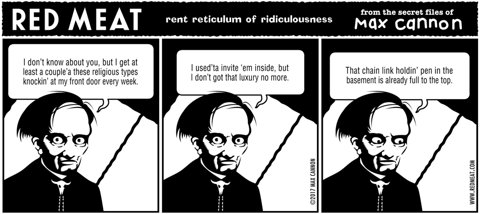 rent reticulum of ridiculousness
