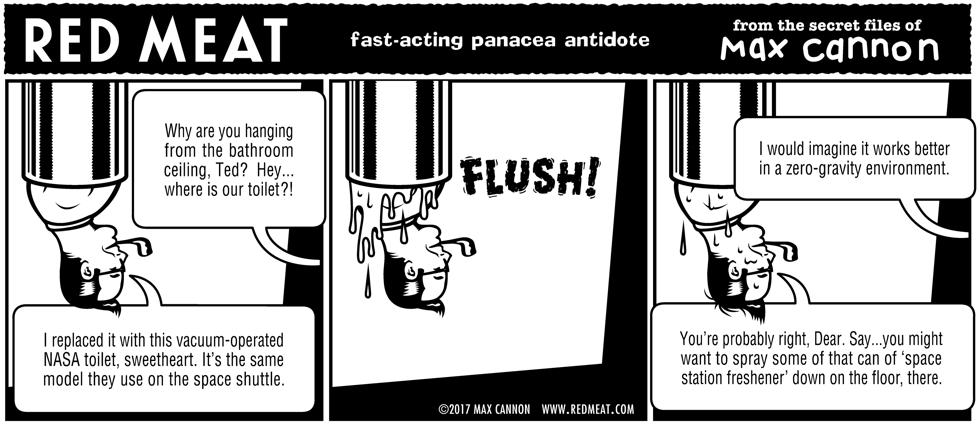 fast-acting panacea antidote