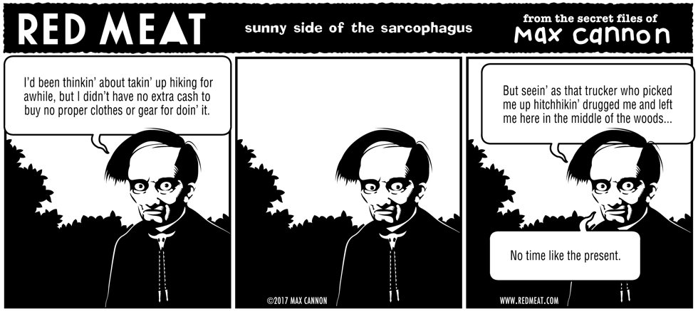 sunny side of the sarcophagus