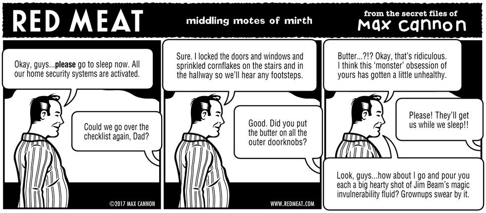 middling motes of mirth