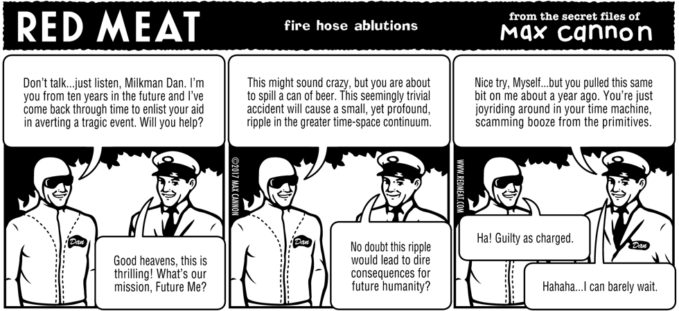 fire hose ablutions