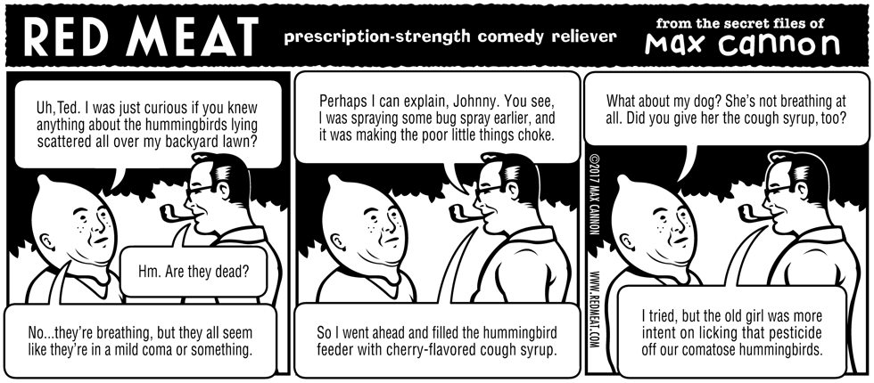 prescription-strength comedy reliever