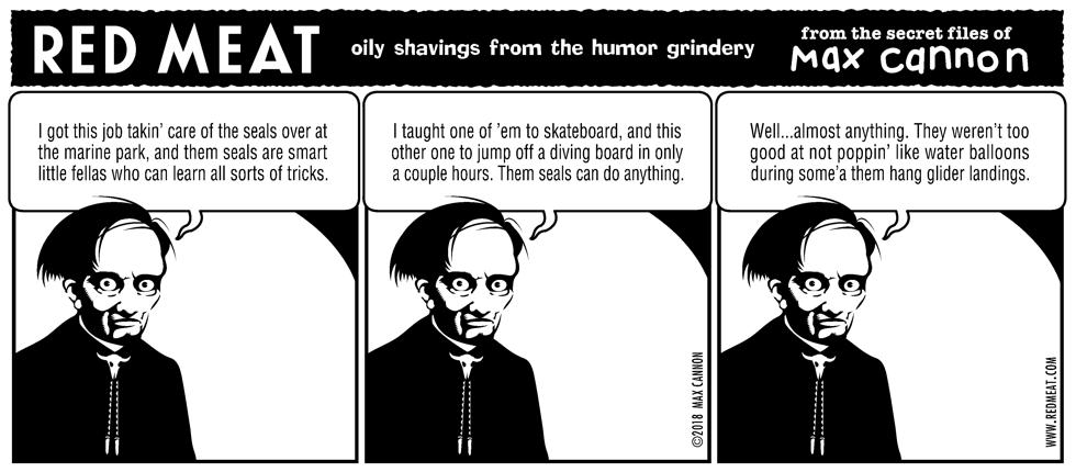 oily shavings from the humor grindery