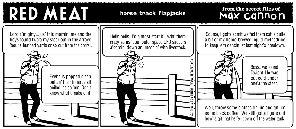 horse track flapjacks