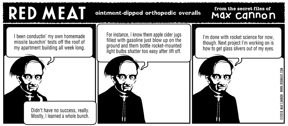 ointment-dipped orthopedic overalls