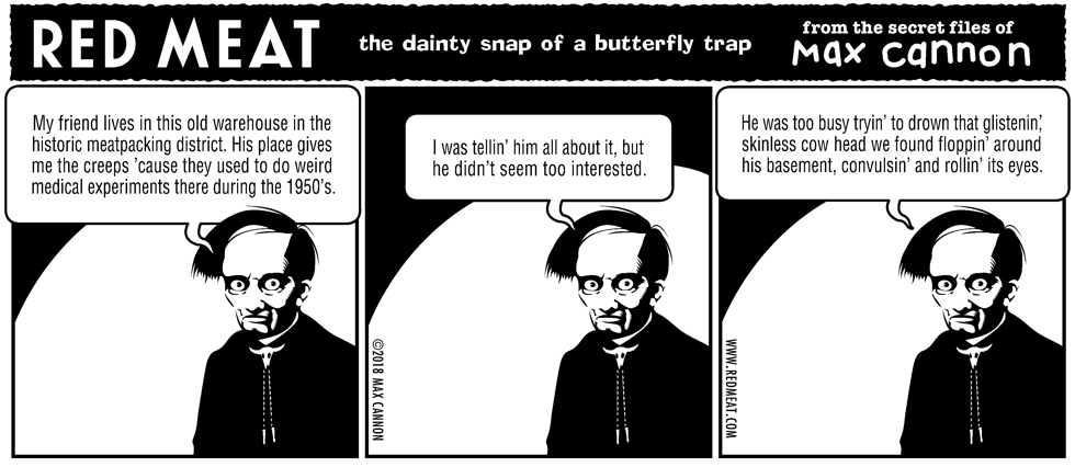 the dainty snap of a butterfly trap