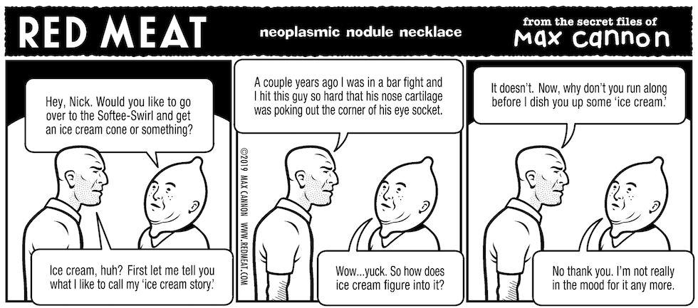 neoplasmic nodule necklace