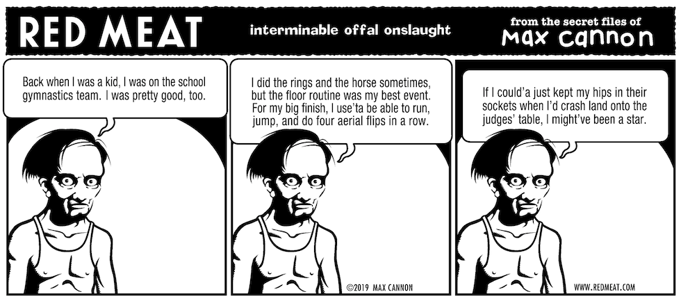 interminable offal onslaught
