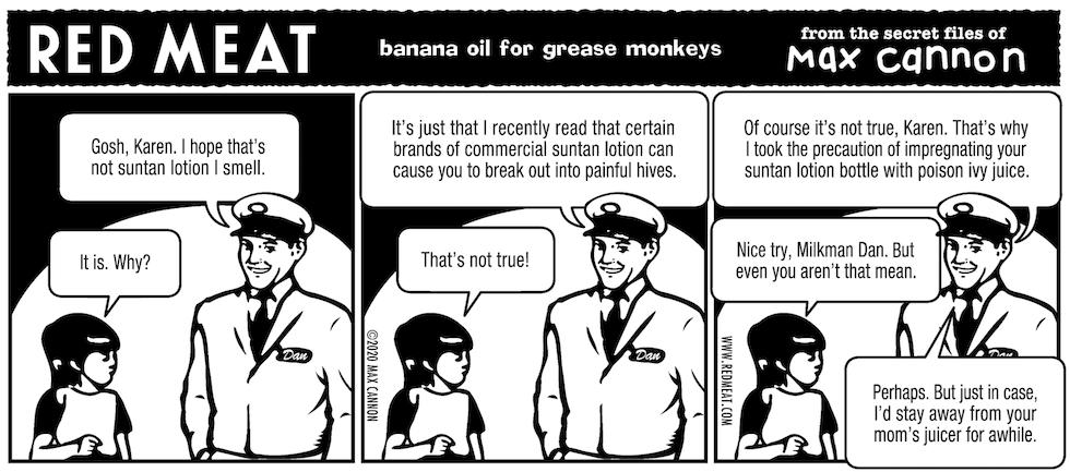 banana oil for grease monkeys