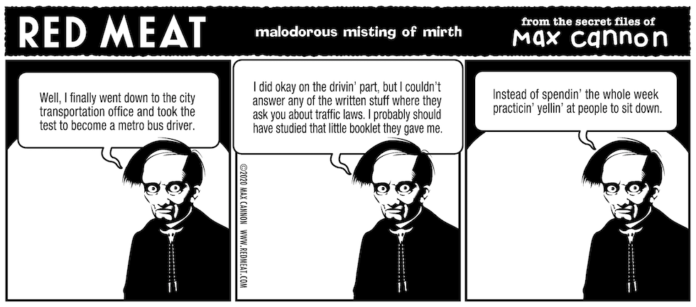 malodorous misting of mirth