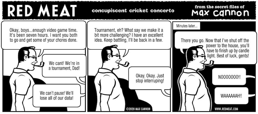 concupiscent cricket concerto