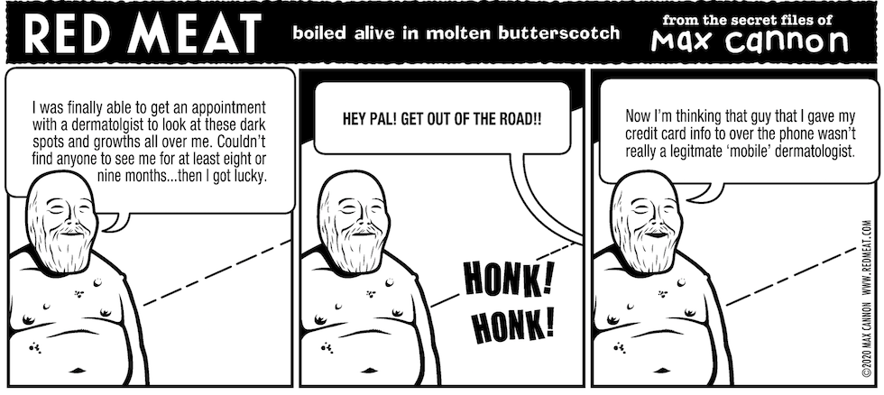boiled alive in molten butterscotch