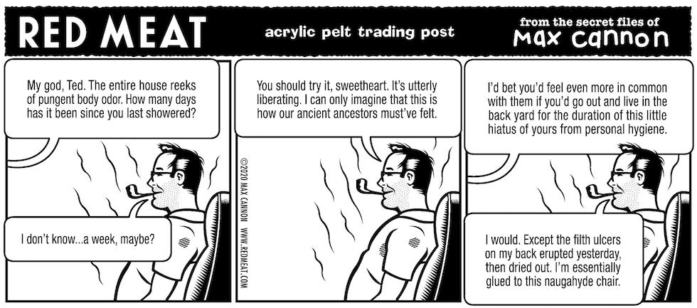acrylic pelt trading post