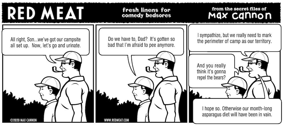 fresh linens for comedy bedsores