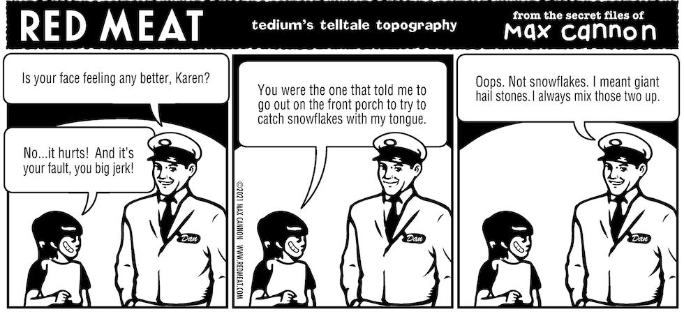 tedium's telltale topography