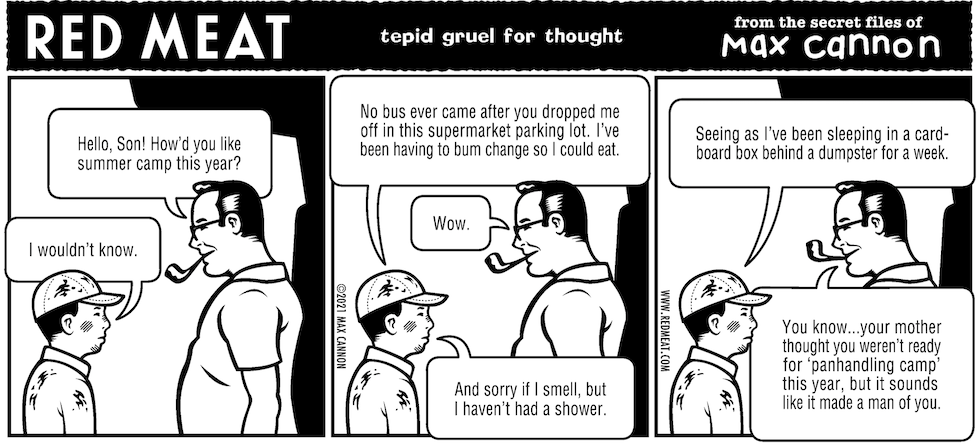 tepid gruel for thought