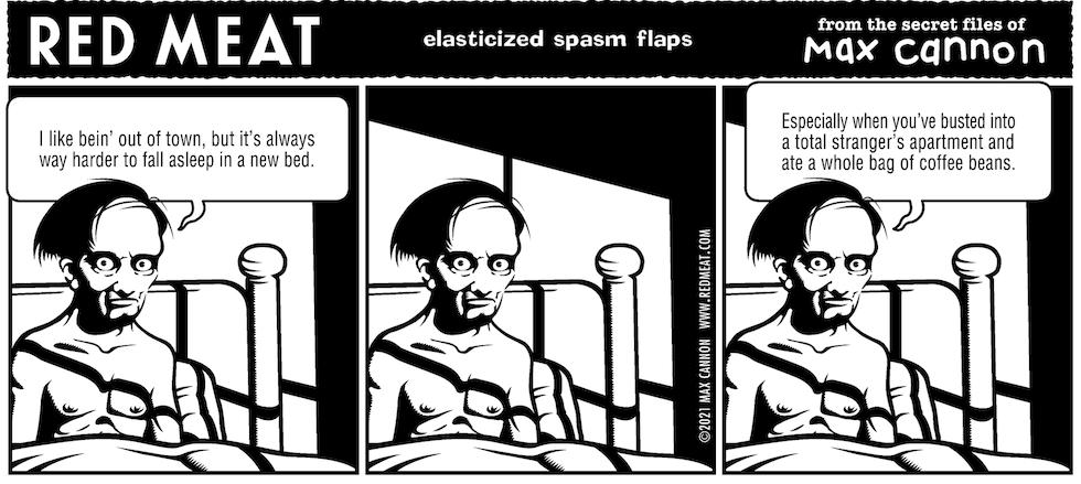 elasticized spasm flaps