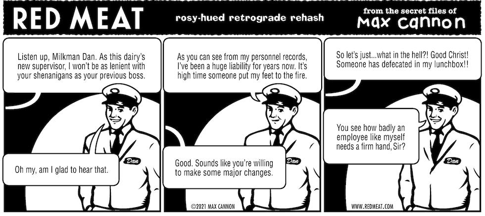 rosy-hued retrograde rehash