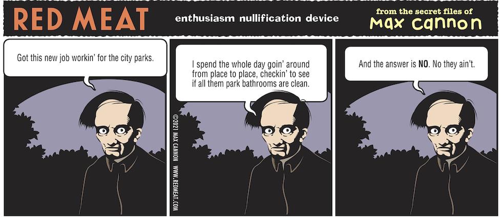 enthusiasm nullification device